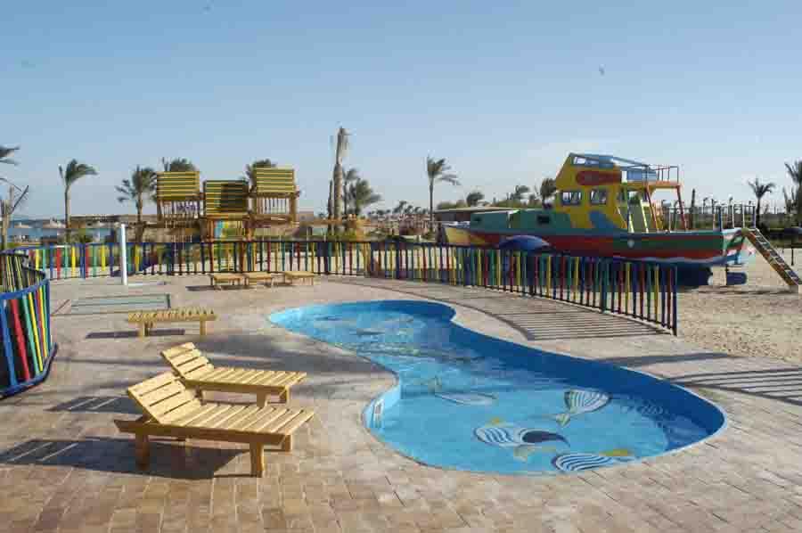 детский бассейн отеля Desert